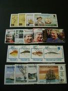 Tristan Da Cunha 1992 Commemorative Issues - Used - Tristan Da Cunha