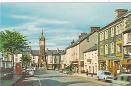 MACHYNLLETH - THE CLOCK TOWER - Montgomeryshire