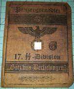WW2 German, Panzergrenadier 17. SS Division,  ID, Document Auswiess, Not Original (?) - 1939-45
