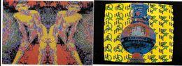 79 - AIRVAULT - 2 Cartes Modernes Sté MINO EST GENIAL - BABERLONE,MINO,BERLIN 1990 -LES NINOS 1900 Peinture Informatique - Airvault