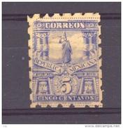 Mexique  -  1895  :  Mi  181 C  (*)   Dentelé 6 , WZ 3 - Mexico