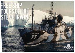 (997) Advetisement Postcard - Steve Irwin Ship - Warships