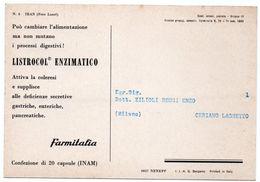 DEAR DOCTOR TYPE PUBL. LISTROCOL ENZIMATICO / FARMITALIA - IRAN - Iran