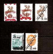 Russia Kazakhstan Local Overprint Mint Stamps MNH Horseman , Ship , Avia (Lot - 17 - 22 -29,12,2017) - Kazajstán