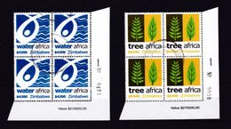 Zimbabwe 2004 Environment Interesting Group, VFU / Used / O (Simbabwe) - Zimbabwe (1980-...)