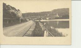"AK ""Eisenbahnbrücke Maas O. Mosel"" - Weltkrieg 1914-18"