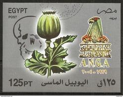 Egypte - 2004 -  Bloc 75e Anniv. De L'Admin.Générale Contre La Drogue ( A.N.G.A ) -  BF89 -  Oblitéré - Egypt