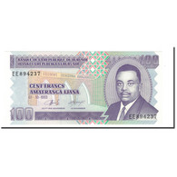 Burundi, 100 Francs, 1993, 1993-10-01, KM:37a, NEUF - Burundi