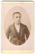 Photo Jules Rozier, Arles-sur-Rhone, Portrait De Knabe Im Edlen Anzug - Anonyme Personen
