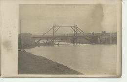 "AK ""Behelfsbrücke"" - Weltkrieg 1914-18"