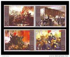 Moldova (Transnistria) 2017 No. 758/61 October Revolution In Russia. Lenin MNH ** - Moldova
