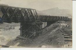 """AK """"Behelfsbrücke"""" - War 1914-18"""