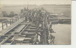 """AK """"Pioniere Brücken-Rekonstruktion"""" - Weltkrieg 1914-18"""