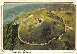 Le Sommet Du Puy De Dome Les Ruines Du Temple De Mercure L Observatoire Et Le Centre  Emission7(scan Recto-verso) MA1077 - Altri Comuni