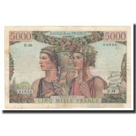 France, 5000 Francs, 1951-02-01, KM:131c, TTB, Fayette:48.3 - 1871-1952 Frühe Francs Des 20. Jh.