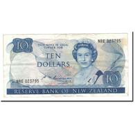 Nouvelle-Zélande, 10 Dollars, 1981-1992, Undated (1985-1989), KM:172b, TB - Nouvelle-Zélande