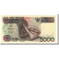 Indonésie, 5000 Rupiah, 1992-2001, 1992, KM:130a, SPL - Indonésie
