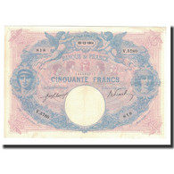 France, 50 Francs, 1914-12-15, KM:64e, TTB+, Fayette:14.27 - 1871-1952 Antichi Franchi Circolanti Nel XX Secolo