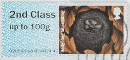 GB 2016 Hibernating Animals 2nd Type 2 Issuing Office 020511 Used [32/99/ND] - Great Britain