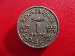 Maroc - 1 Franc 1370 7982 - Morocco