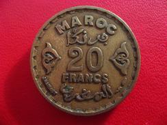 Maroc - 20 Francs 1371 7980 - Morocco