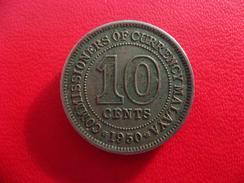 Malaya - 10 Cents 1950 8043 - Malaysia