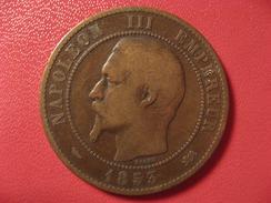 10 Centimes Napoléon III 1853 D Lyon 7629 - D. 10 Centimes