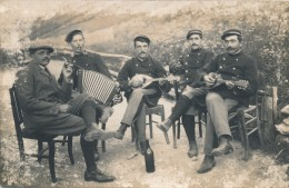 G171 - Militaria - Un Groupe De Musiciens - Oorlog 1914-18