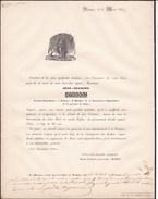 VIEMME Jean-François STREEL Fermier-propriétaire époux BODEN 66 Ans 1847 - Obituary Notices