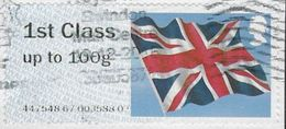 GB 2012 Flag Post And Go 1st Good/fine Used Code 447548 [32/103/ND] - Great Britain