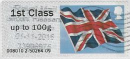 GB 2012 Flag 1st Issue Code 008010 Used [32/104/ND] - Great Britain
