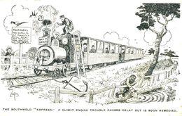 "SUFFOLK - THE SOUTHWOLD ""EXPRESS"" By REG CARTER  Suf344 - England"