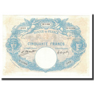 France, 50 Francs, 1925-01-22, KM:64g, TTB+, Fayette:14.38 - 1871-1952 Anciens Francs Circulés Au XXème