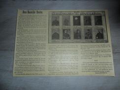 Origineel Knipsel ( 911 ) Uit Tijdschrift : Gesneuvelden Van Zout - Leeuw - Soldaten Soldaat Oorlog 1914 -'18 - Vieux Papiers