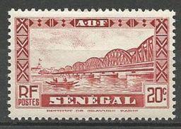 SENEGAL N° 120 NEUF*  TRACE DE CHARNIERE / MH - Sénégal (1887-1944)
