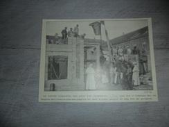 Origineel Knipsel ( 930 ) Uit Tijdschrift :  Grimbergen   1913 - Vieux Papiers