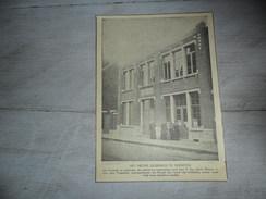 Origineel Knipsel ( 947 ) Uit Tijdschrift :  Anderlecht  Bruxelles  1923 - Vieux Papiers