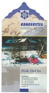 Scouting Brochure - KANDERSTEG - Scoutisme
