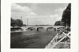 Hamoir - Pont De Hamoir Sur L'Ourthe - Photo 15 X 10.5 Cm 1956 - Hamoir