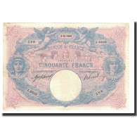 France, 50 Francs, 1915-11-02, KM:64e, TTB, Fayette:14.28 - 1871-1952 Antichi Franchi Circolanti Nel XX Secolo