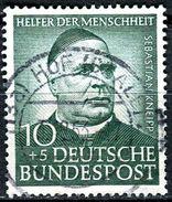 BRD - Michel 174 - OO Gestempelt (D) - 10+5Pf   Helfer Der Menschheit IV, Wohlfahrt 53, II.Wahl - [7] West-Duitsland