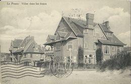 La Panne  -   Villas Dans Les Dunes   -   1911 Naar Paris - De Panne