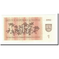 Lithuania, 1 (Talonas), 1992, KM:39, SPL - Lithuania