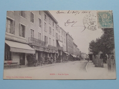BOËN Rue De LYON ( Ed. Nouvelles Galeries ) Anno 1905 ( Zie Foto Details ) !! - Otros Municipios