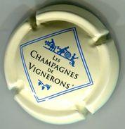 CJ-CAPSULE-666 -CHAMPAGNES DE VIGNERONS Creme - Champagne