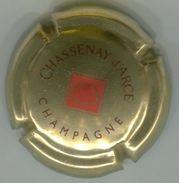 CJ-CAPSULE-CHAMPAGNE CHASSENAY D'ARCE N°16 Or & Rouge - Champagne