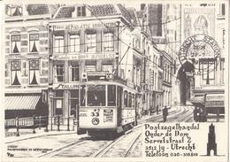 Nederland - Utrecht - Postzegelhandel Onder De Dom - Maartensbrug - Servetstraat - 1936 - Tram - Gebruikt/used - Utrecht