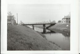 SINT JAN In EREMO - Brug Leopoldsvaart - Foto 15x10.5 Cm - 1956 (Sint-Laureins) - Sint-Laureins
