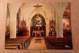 PREZ SOUS LAFAUCHE - Intérieur De L'église St Didier ( 52 Haute Marne ) - France