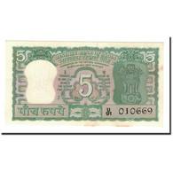 India, 5 Rupees, KM:56a, SPL+ - India